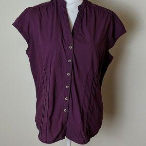 Columbia Sportswear button-down blouse